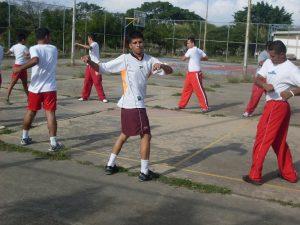 clase educación física